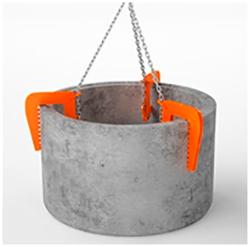 Строп для подъема колодезных колец